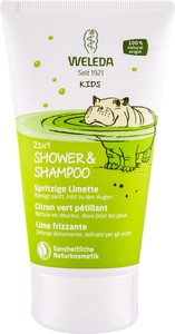 Weleda Kids Lively Lime 2In1 Krem Pod Prysznic 150Ml