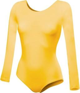 Żółta bluzka dziecięca Rennwear z bawełny