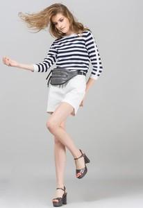 Szorty Monnari z bawełny w stylu casual
