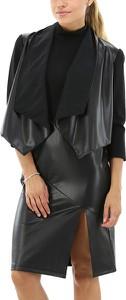 Czarna kurtka Liu-Jo w stylu casual krótka