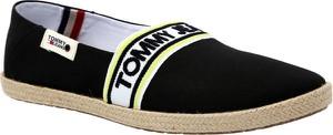 Buty letnie męskie Tommy Jeans w stylu casual z tkaniny