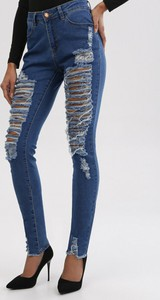 Niebieskie jeansy born2be