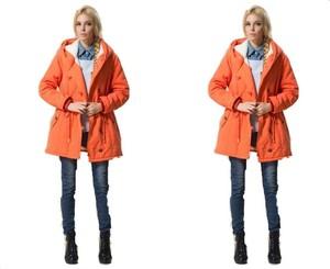Pomarańczowa kurtka Yaze