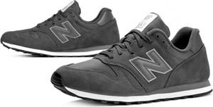 Buty sportowe New Balance ze skóry w sportowym stylu