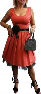 Czerwona sukienka Marselini