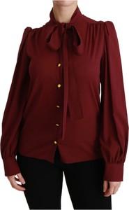 Czerwona koszula Dolce & Gabbana w stylu casual