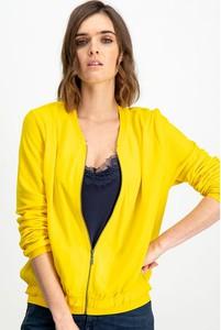 Żółta kurtka Garcia w stylu casual