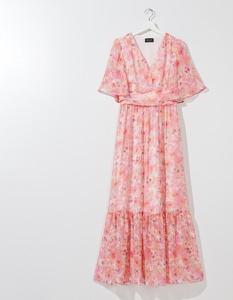 Sukienka Mohito z szyfonu maxi w stylu boho