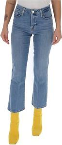 Niebieskie jeansy Frame z jeansu
