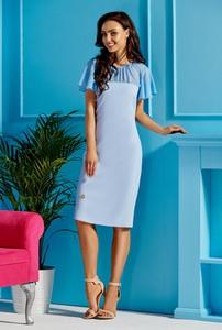 Sukienka FLORENCE z szyfonu