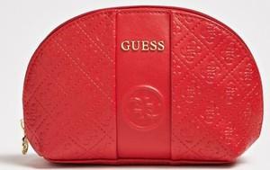 Czerwona kosmetyczka Guess