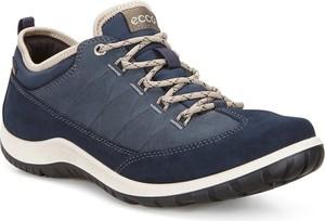 Niebieskie buty trekkingowe ecco
