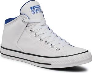 Trampki CONVERSE - Ctas High Street H 164885C White/White/Blue