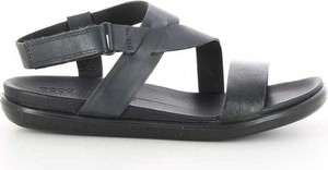 Sandały Ecco ze skóry w stylu casual z klamrami