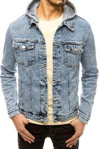 Niebieska kurtka Dstreet krótka w młodzieżowym stylu