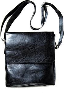 Czarna torba Pako Jeans ze skóry ekologicznej