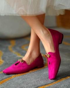 Różowe baleriny Kendallme w stylu casual