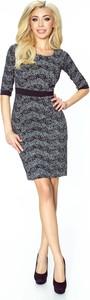 Sukienka Ptakmoda.com w stylu casual mini dopasowana