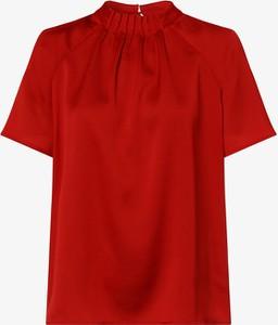 Czerwona bluzka S.Oliver Black Label z golfem