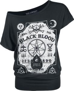 Czarny t-shirt Black Blood z krótkim rękawem