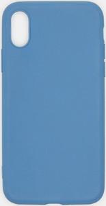 Sinsay - Etui iPhone XS - Niebieski