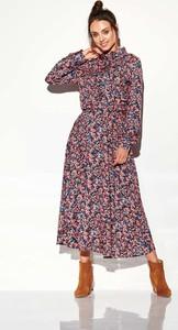 Sukienka Lemoniade maxi w stylu casual z kołnierzykiem
