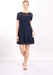 Sukienka MEXX dla puszystych mini z okrągłym dekoltem