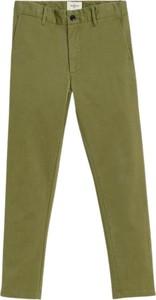 Zielone spodnie dziecięce Bellerose dla chłopców