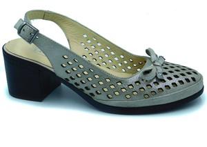 Srebrne sandały Lanqier