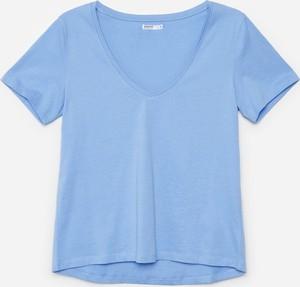 Bluzka Cropp z krótkim rękawem w stylu casual