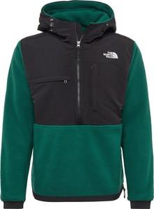 Zielona kurtka The North Face w stylu casual z tkaniny