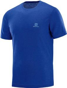 Niebieski t-shirt Salomon