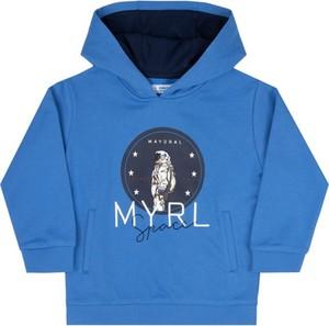Niebieska bluza dziecięca Mayoral