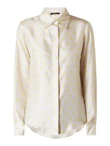 Żółta koszula Seventy z jedwabiu