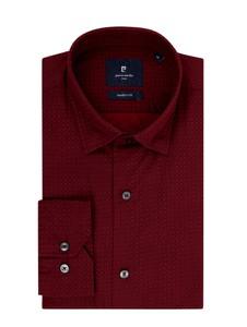 Czerwona koszula Pierre Cardin