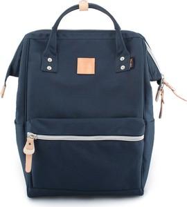 Niebieski plecak męski Himawari z tkaniny