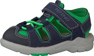 Buty dziecięce letnie Pepino na rzepy ze skóry dla chłopców