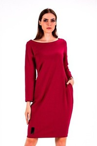 Sukienka Sthorm z dresówki z długim rękawem