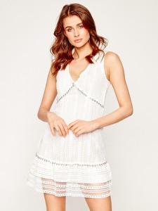 Sukienka Guess bez rękawów z dekoltem w kształcie litery v w stylu casual