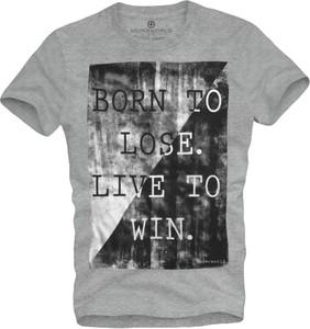 T-shirt Underworld z bawełny z krótkim rękawem