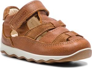 Brązowe buty dziecięce letnie Primigi na rzepy