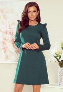 Zielona sukienka NUMOCO mini oversize