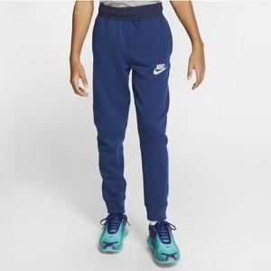 Niebieskie spodnie dziecięce Nike