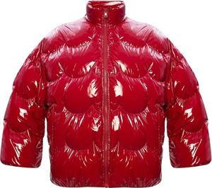 Czerwona kurtka Red Valentino w stylu casual krótka