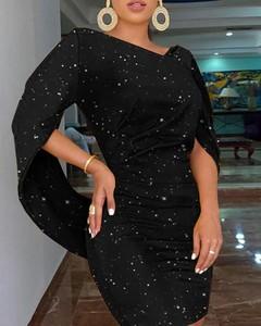 Sukienka Kendallme mini z długim rękawem z dekoltem w kształcie litery v
