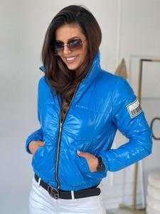 Niebieska kurtka Versada krótka