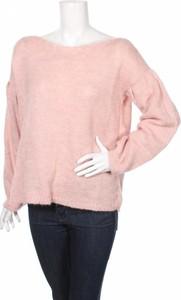 Różowy sweter Lemoniade w stylu casual