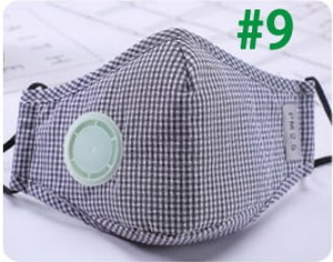 Happymall Maska PM2.5 N95 #9 1 zawór