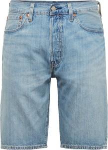 Niebieskie spodenki Levis z jeansu