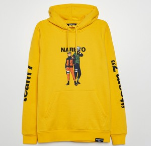 Żółta bluza Cropp w młodzieżowym stylu